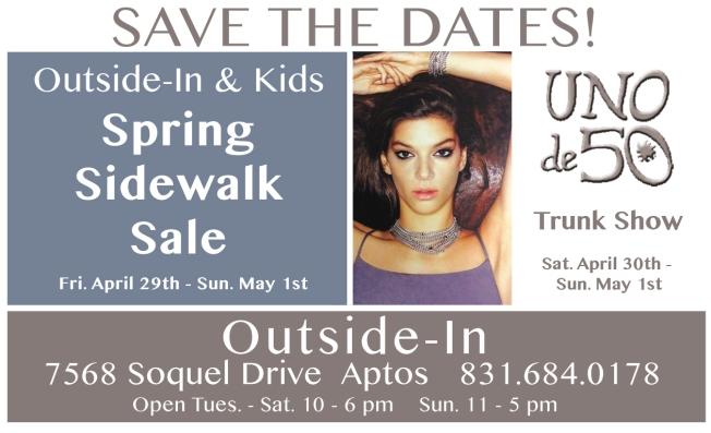 Spring Sale Uno sale weekend 2016 flat a
